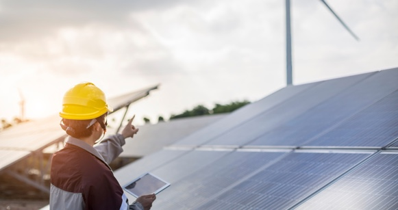 Training in the UK's renewables sector